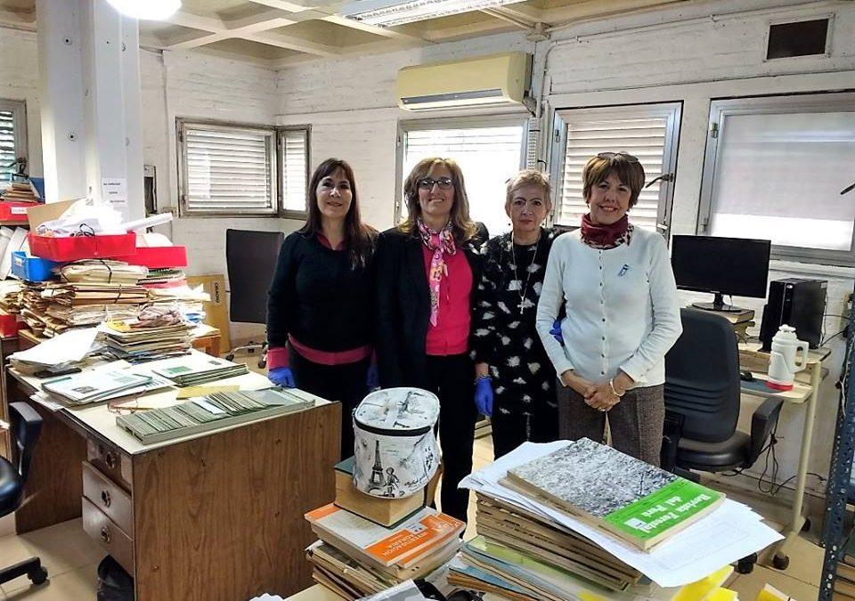Recibimos la visita en Biblioteca Central de la Rectora de la Universidad Nacional del Nordeste Prof. Delfina Veiravé