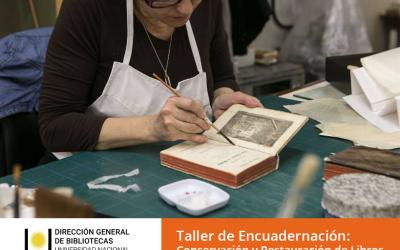 #Capacitaciones2018 | Taller de encuadernación: conservación y restauración de libros