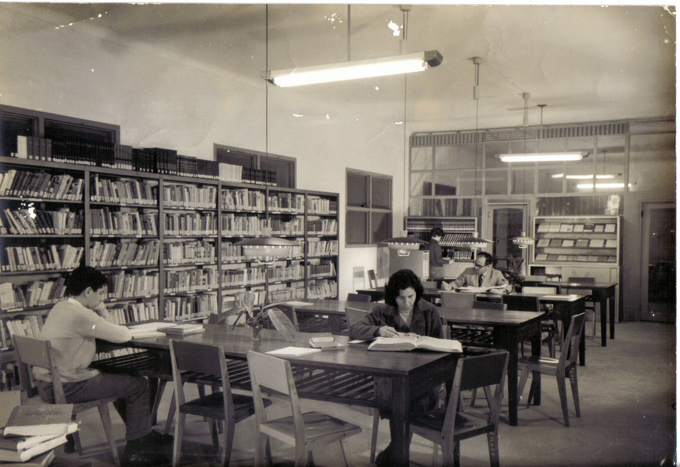7 Sala Lectura año 1959
