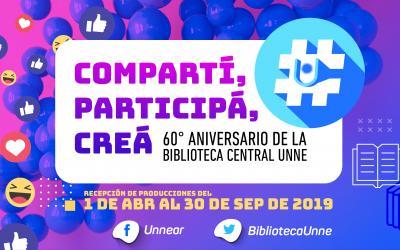 #SoyProtagonista – Actividad en el Marco del 60° Aniversario de la Biblioteca Central UNNE