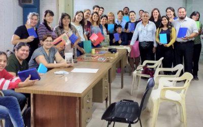 Culminó el 2° taller de encuadernación en Biblioteca Central de la UNNE